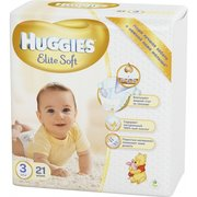 HUGGIES Elite Soft 5-9 кг (21) фото