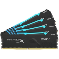 Kingston HyperX Fury DDR4 RGB 4x8Gb