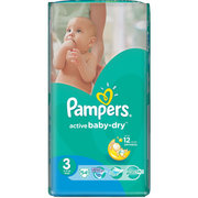 Pampers Active Baby-Dry 5-9 кг (54) фото